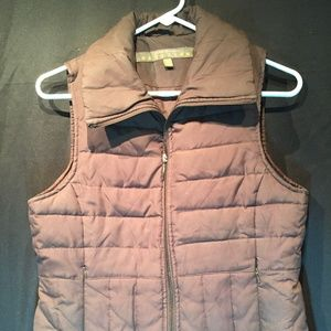 Kenneth Cole Reaction Down Feather Puffer Vest S